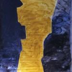 Die Bresche,  2013,  Acryl auf Leinwand,  230 / 350 cm