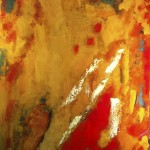 Suche, 2012, Öl auf Leinwand, 60,5/70,5.
