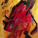 Erwachen, 2013, Öl auf Leinwand, 40/70 cm.