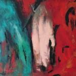 Manifestation, 2009, Öl auf Leinwand, 100 /81cm